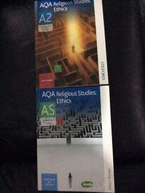 AQA AS & A2 Religious studies books ethics