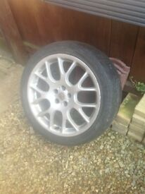 Mg zt alloy 18inch alloy wheel