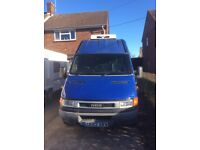 Iveco daily fridge van