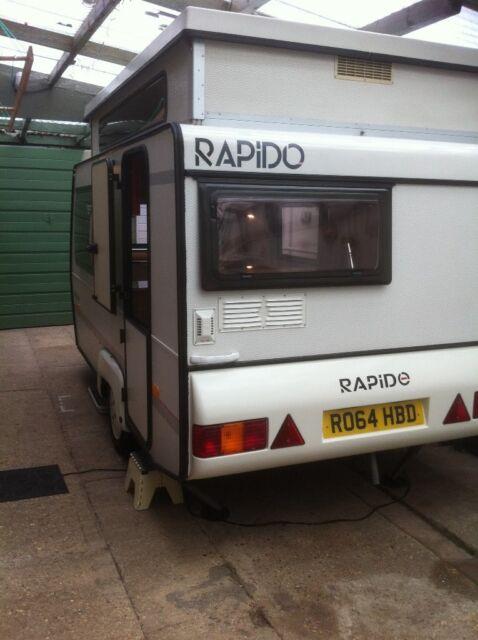 Rapido pop up pop top lightweight folding caravan only 650kg Max  laden  weight easily towed | in Dibden Purlieu, Hampshire | Gumtree