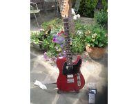 Fender Telecaster Blacktop custom