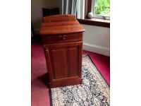 Mahogany wooden floor unit