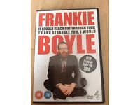 """Frankie Boyle """"If I Could Reach Out Through Your TV And Strangle You I Would"""" DVD."""