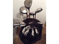 BenRoss golf clubs (full set) + 50 balls