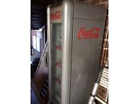 Coca Cola retro display fridge in good condition