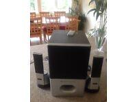 Altec Lansing Surround System Suitable for TV/IPad/IPod/PC/Etc.