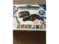 Sega mega drive with 80 built in games