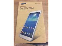 "Samsung Galaxy Tab 3 - 8"" HD Screen - Like new condition"