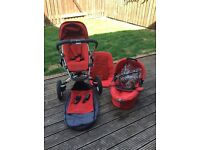 Quinny Buzz Buggy & Carry Cot