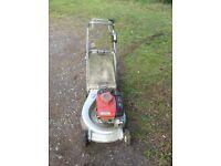 Honda hr 21 alloy body mower in good working order