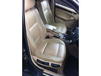 BMW e46 saloon leather interior and seats