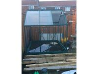 Greenhouse 6x6 quick sale