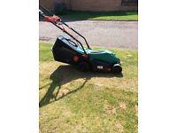BOSH ARM 360 electric lawnmower