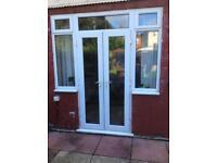 UPVC Double glazed French door and window. £100 ono