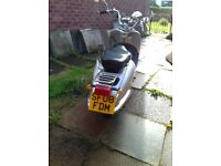 125cc Scooter, Spares Or Repair