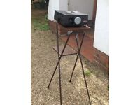 Slide projector stand