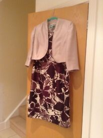 acques Vert Size 14 Dress & Jacket - worn once and cleaned
