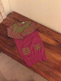Marks & Spencer girls knitted dress age 4-5 years brand new