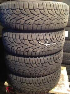 4 pneus d'hiver 195/65 r15 gislaved nord frost 100.  120$