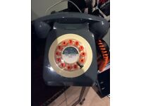 Wild and Wolf retro style house phone in excellent condition