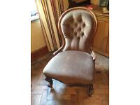 Antique spoon back chair, lovely condition