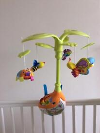 Sing & Soothe cot mobile by Vtech