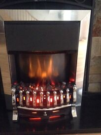 Flame effect electric fire £40