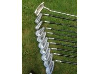 Full set Jack Nicklaus right handed men's golf clubs with bag