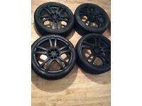 Alloys wheels 17 inch multi fit