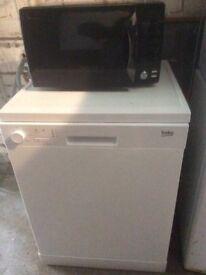 Microwave £20 Dishwasher £40