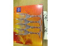 4 x Nirvana champagne flutes