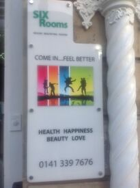 Glasgow West End Therapy/Clinic, rooms to rent,hourly,daily,weekly rates