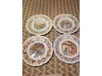 Royal Doulton Brambley Hedge plates