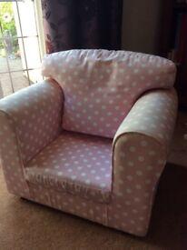 Polka Dot Children's Armchair