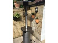 ENDERS COSY COMMERCIAL PATIO HEATER WITH COVER. Excellent gas heater with 5-14kw heats up to 10m.