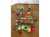 Lamaze, Jellycat, Hungry Caterpillar Toys