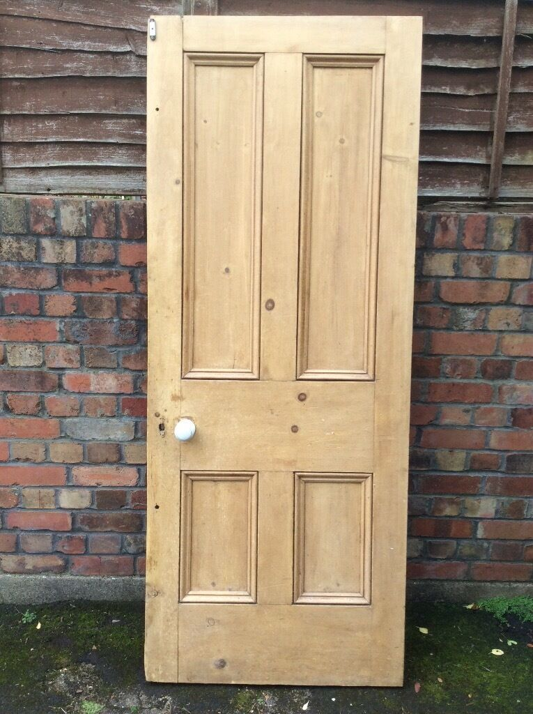 Original pine internal door
