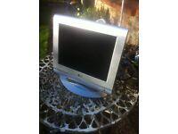 LG Flatron Flat Square 15 inch coloured Monitor