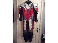 RST motorbike leathers.
