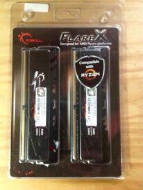 G SKILL FLAREX Extreme Performance DDR4 Memory F4-3200C14D-16GFX