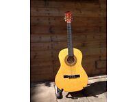 Palma 3/4 size guitar. Nylon string classic/Spanish style guitar