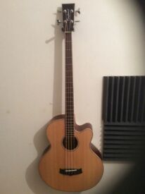Tanglewood evolution electro-acoustic bass