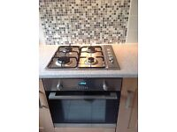 Integrated Cooker Hob, Oven & Extractor Fan