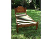 Single bed frame for single mattress