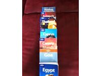 Lonely Planet Travel Books X 7. £15 for All or £3 Each.