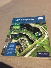AQA A Level and AS Human Geography text book