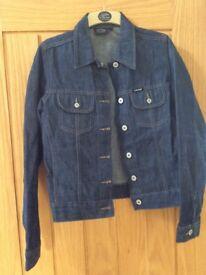 Women's Firetrap BlackSeal Denim Jacket, New & Unworn, size Medium