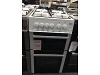 Beko 50cm white gas cooker. £249 12 month Gtee
