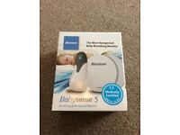 Babysense breathing and movement monitor