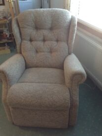Sterling Tillicoultry recliner chair. Used once